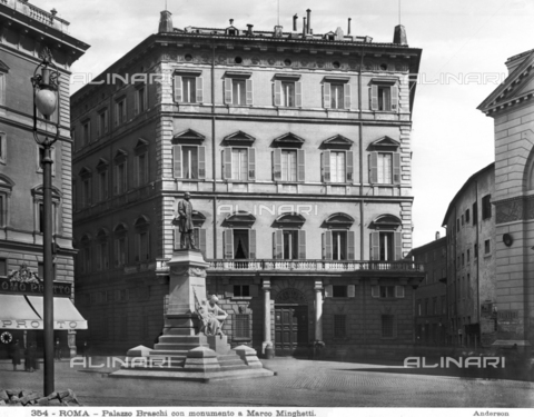 ADA-F-000354-0000 - Monument to Marco Minghetti, Piazza San Pantaleo, Rome