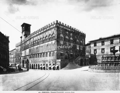 ADA-F-000485-0000 - Palazzo dei Priori or Palazzo del Comune (City Hall), Perugia, Umbria