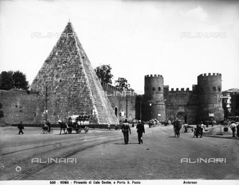 ADA-F-000500-0000 - Caius Cestius Pyramid, Rome