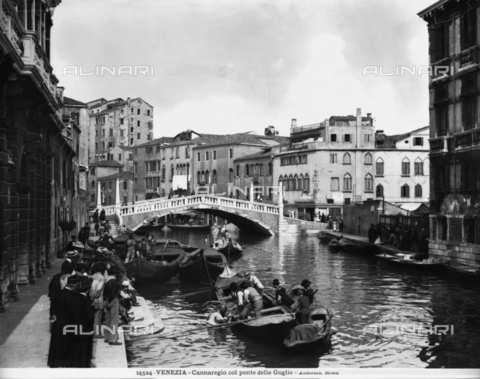 ADA-F-014524-0000 - Animated View of Cannaregio in Venice and the bridge of the Guglie