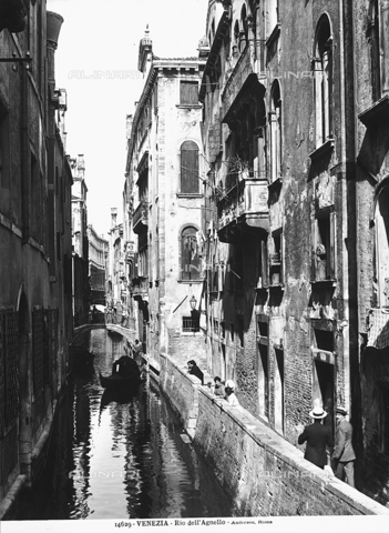 ADA-F-014629-0000 - Animated view of Rio dell'Agnello, Venice