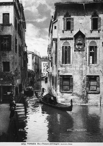 ADA-F-014633-0000 - Animated view of the Rio and Angelo Palace, Venice