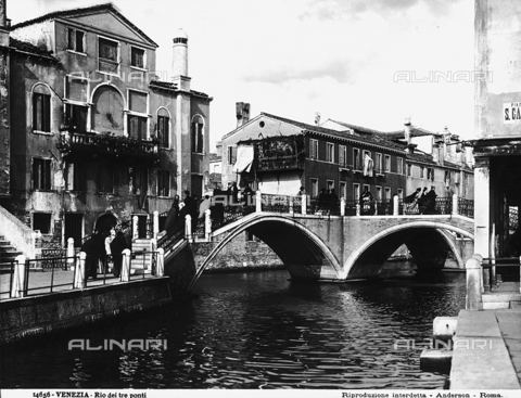 ADA-F-014656-0000 - Animated view of the Rio dei Tre Ponti, Venice