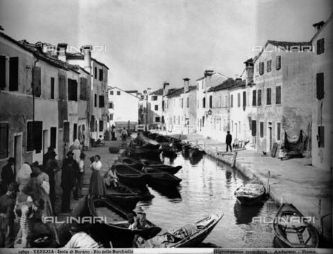 ADA-F-014692-0000 - Island of Burano. Rio delle Burchielle