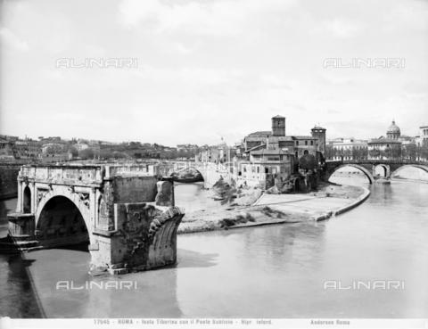 ADA-F-017545-0000 - Pons Aemilius or Ponte Rotto, Rome