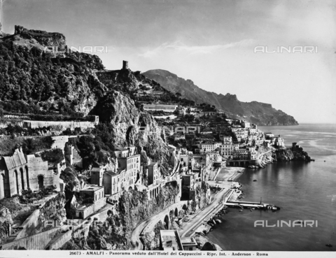 ADA-F-026673-0000 - Panoramic view of Amalfi and the Amalfi Coast from the Capuchin Monastery