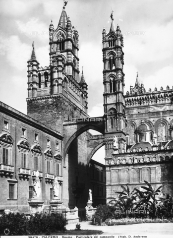 ADA-F-029478-0000 - Bell tower, Cathedral, Palermo