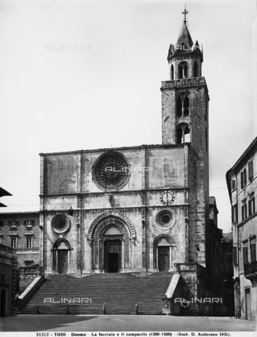 ADA-F-031313-0000 - Facciata del Duomo, Todi.