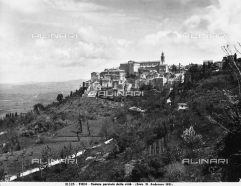 ADA-F-031325-0000 - Panoramic view of the city of Todi