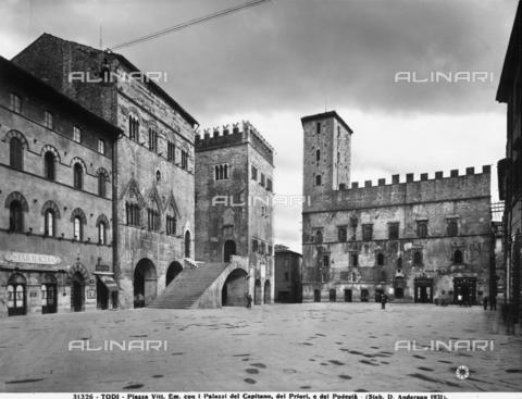 ADA-F-031326-0000 - Faà§ade, Palazzo del Capitano, Todi