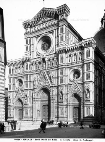 ADA-F-040364-0000 - Faà§ade, Cathedral of Santa Maria del Fiore, Florence