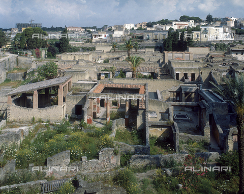 AGC-F-000235-0000 - Panorama of the excivations of the city of Herculaneum - Date of photography: 1989 - Alinari Archives, Florence, Reproduced with the permission of Ministero per i Beni e le Attività Culturali