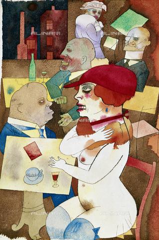 AGC-F-001329-0000 - Bellezza voglio lodarti!, dipinto di George Grosz di Proprietà Privata a Berlino. - Data dello scatto: 1993 - Archivi Alinari, Firenze