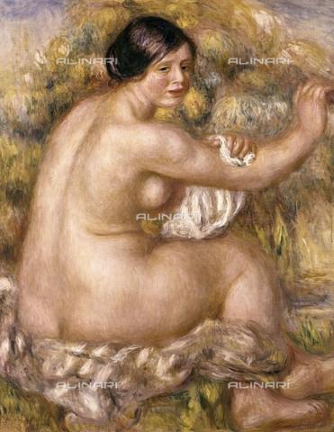 AIS-F-000829-0000 - Great sitting nude, 1912, Pierre-Auguste Renoir (1841-1919), the Museum of Art of Sao Paulo, Sao Paulo - Iberfoto/Alinari Archives, BeBa