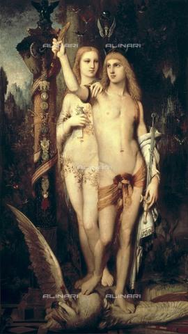 AIS-F-010604-0000 - Jason and Medea, oil on canvas, Gustave Moreau (1826-1898), Musée du Louvre, Paris - Iberfoto/Alinari Archives, BeBa