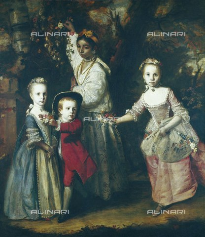 AIS-F-039221-0000 - The sons of Edward Holden Cruttenden, oil on canvas, Sir Joshua Reynolds (1723-1792), the Museum of Art of Sao Paulo, Sao Paulo - Iberfoto/Alinari Archives, BeBa