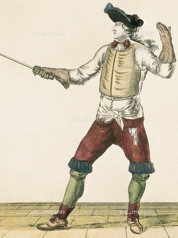 AIS-F-080824-0000 - Master-at-arms (18th c.). Xylography. FRANCE. Paris. Musée Carnavalet (Carnavalet Museum). - BeBa / Iberfoto/Archivi Alinari