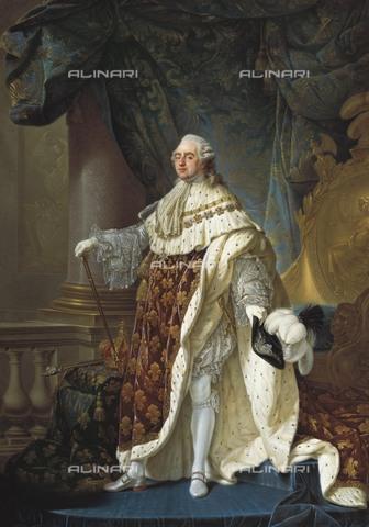 AIS-F-110079-0000 - CALLET, Antoine Franà§ois (1741-1823). Portrait of Louis XVI. end 18th c. Oil on canvas. AUSTRIA. Vienna. Kunsthistorisches Museum Vienna (Museum of Art History). - Iberfoto/Alinari Archives, BeBa