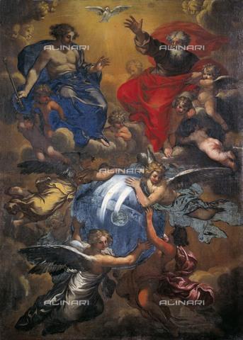 AIS-F-110234-0000 - The Trinity, oil on canvas, Maratta, Carlo (1625-1713), Galleria d'Arte Antica, Rome - Iberfoto/Alinari Archives, BeBa