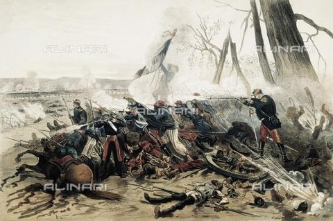 AIS-F-111423-0000 - Franco-Prussian War. Battle of Sedan (September 1, 1870). Oil on canvas. - Iberfoto/Alinari Archives, BeBa