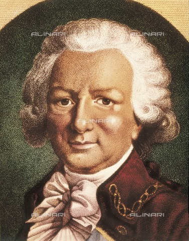 AIS-F-120175-0000 - BOUGAINVILLE, Louis Antoine de (1729-1811). French navigator. Engraving. - Iberfoto/Alinari Archives, BeBa