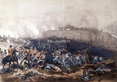 AIS-F-120265-0000 - Crimean War. Battle of Inkerman (Novembre 5, 1854). Litography. - Iberfoto/Alinari Archives, BeBa