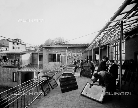 APA-S-011953-0009 - The terrace of the Alinari Brothers' photographic establishment, in Florence