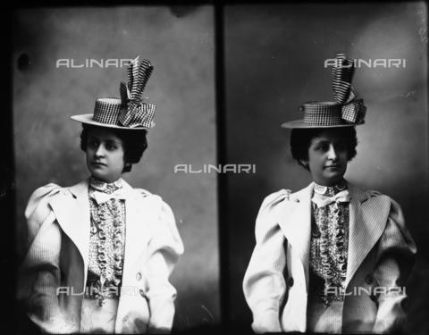 ARA-F-02300M-0000 - Portrait of signora Emma Berchielli, multiple image