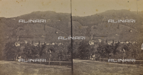 ARC-F-005430-0000 - View of Bagni di Lucca - Date of photography: 1860 ca. - Fratelli Alinari Museum Collections-Aranguren Collection, Florence