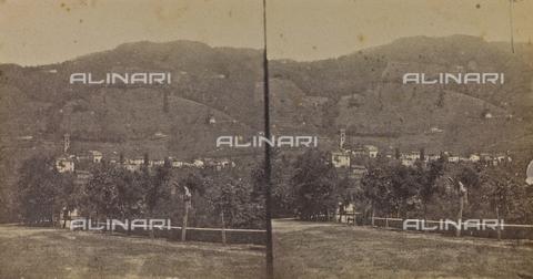 ARC-F-005430-0000 - Veduta di Bagni di Lucca - Data dello scatto: 1860 ca. - Archivi Alinari, Firenze