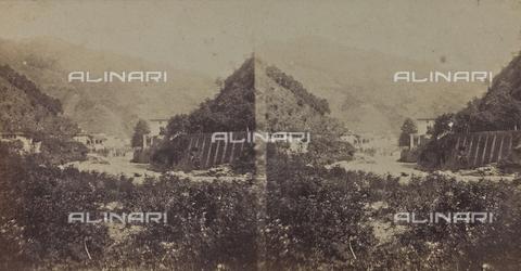 ARC-F-005434-0000 - Veduta di Bagni di Lucca - Data dello scatto: 1860 ca. - Archivi Alinari, Firenze