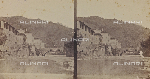 ARC-F-014053-0000 - View of Ponte a Serraglio - Date of photography: 1860 ca. - Fratelli Alinari Museum Collections-Aranguren Collection, Florence