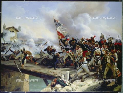 ATK-F-005410-0000 - La battaglia del Ponte d'Arcole, olio su tela,  Emile Jean Horace Vernet (1789-1863) - Artothek/Archivi Alinari, Christie's Images Ltd