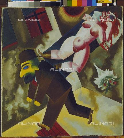ATK-F-005853-0000 - John l'assassino; dipinto di George Grosz; Amburgo, Kunsthalle - Joachim Blauel / Artothek/Archivi Alinari