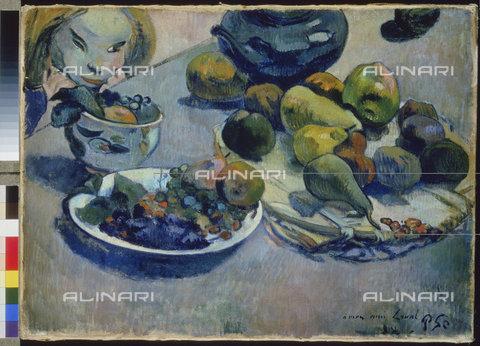 ATK-F-010368-0000 - Natura morta con frutta, 1888, Paul Gauguin  (1848-1903) - Artothek/Archivi Alinari