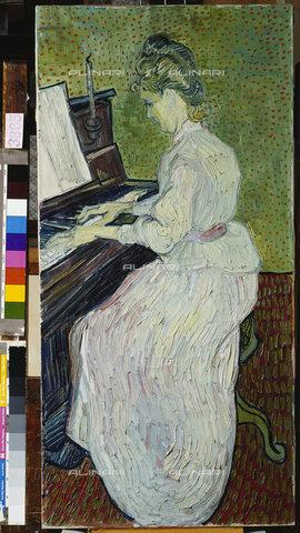 ATK-F-010900-0000 - Miss Gachet playing the piano, oil on canvas, Gogh, Vincent van (1853-1890), Kunstmuseum, Basel - Artothek/Alinari Archives, Hans Hinz