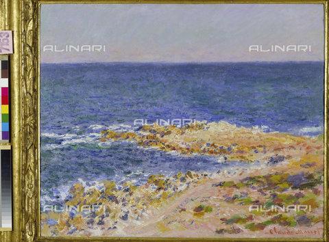 ATK-F-011068-0000 - The great Blue Antibes, oil on canvas, Claude Monet (1840-1926), Sammlung Dreyfuss, Basel - Artothek/Alinari Archives, Hans Hinz