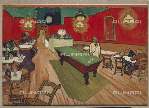 ATK-F-011112-0000 - Cafè di notte ad Arles, olio su tela, Vincent van Gogh (1853-1890), Collezione privata Prof. Hahnloser, Berna, Svizzera - Hans Hinz / Artothek/Archivi Alinari