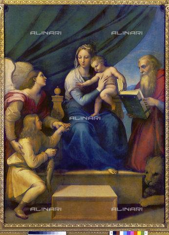 ATK-F-011152-0000 - Madonna del Pesce, olio su tela, Raffaello Sanzio (1483-1520), Museo del Prado, Madrid - Hans Hinz / Artothek/Archivi Alinari
