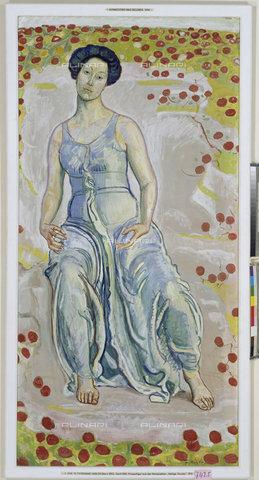 ATK-F-011859-0000 - L'ora sacra, olio su tela, Ferdinand Hodler (1853-1918), Kunstmuseum, Basilea - Artothek/Archivi Alinari, Hans Hinz