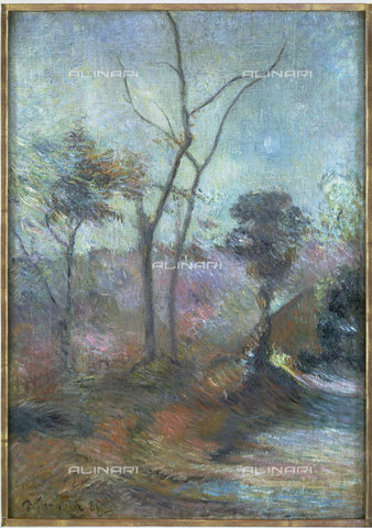 ATK-F-012401-0000 - Paesaggio invernale, Paul Gauguin  (1848-1903) - Christie's Images Ltd - ARTOTHEK / Artothek/Archivi Alinari