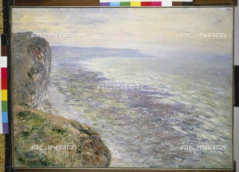 ATK-F-014378-0000 - The sea in Fécamp, oil on canvas, Claude Monet (1840-1926) - Christie's Images Ltd / Artothek/Alinari Archives