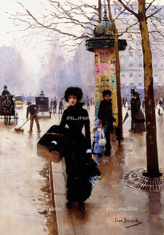ATK-F-014483-0000 - The Parisian, oil on canvas, Jean Béraud (1849-1935) - Christie's Images Ltd / Artothek/Alinari Archives