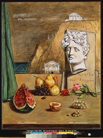ATK-F-018765-0000 - Apollo and the roses, oil on canvas, Giorgio De Chirico (1888-1978), private collection - Peter Willi / Artothek/Alinari Archives