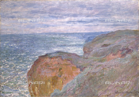 ATK-F-018866-0000 - Reflections of sea light in Dieppe, oil on canvas, Claude Monet (1840-1926) - Christie's Images Ltd / Artothek/Alinari Archives