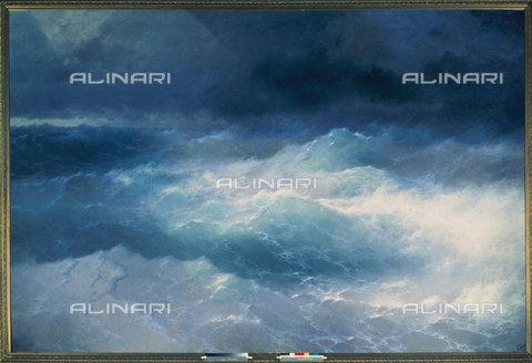 ATK-F-024305-0000 - Waves, painted, Iwan Aiwassowskij Konstantinovich (1817-1900), Aiwassowskij Gallery, Feodosia - Artothek/Alinari Archives
