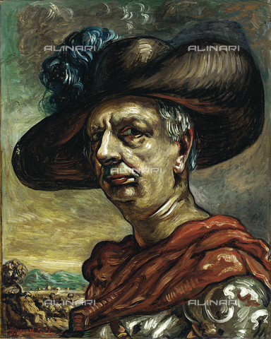 ATK-F-031116-0000 - Self Portrait, oil on canvas, Giorgio De Chirico (1888-1978), private collection - Artothek/Alinari Archives