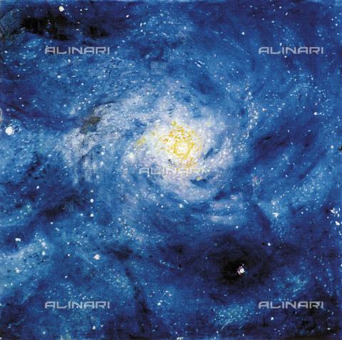 ATK-F-034551-0000 - Galaxy, painting, Eva Fischer-Keller (1914 - 2005) - Artothek/Alinari Archives