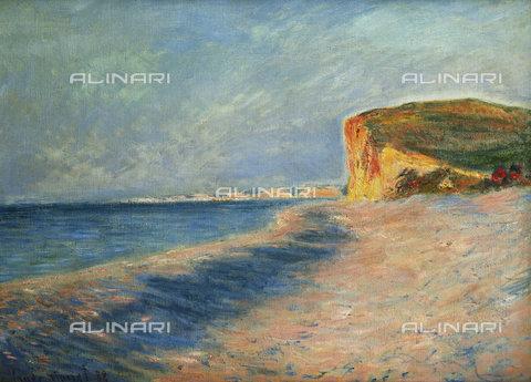 ATK-F-034988-0000 - View of Pourville near Dieppe, oil on canvas, Claude Monet (1840-1926) - Christie's Images Ltd / Artothek/Alinari Archives