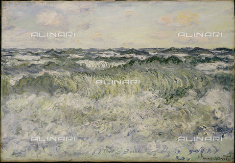 ATK-F-036009-0000 - Seascape Study, Oil on Canvas, Claude Monet (1840-1926) - Christie's Images Ltd / Artothek/Alinari Archives